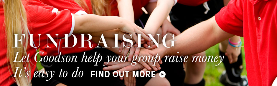 Fundraising: Let Goodson help your group raise money. It's easy to do. Find out more.